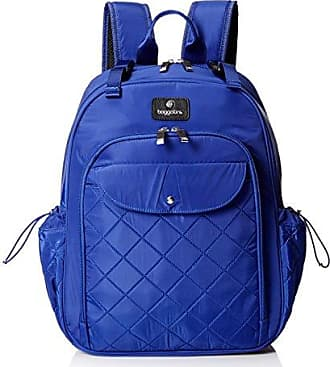 Baggallini BG by Baggallini Womens Run Diaper Bag Backpack with Baby Stroller Straps, Cobalt