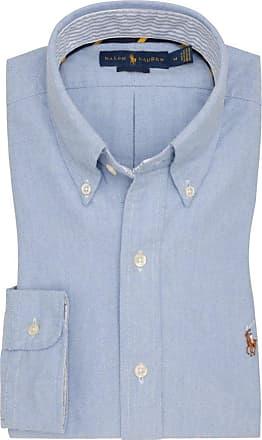 Polo Ralph Lauren Oberhemd, Oxford, Custom Fit von Polo Ralph Lauren in Hellblau für Herren