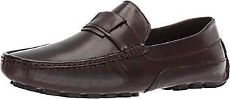 Zanzara Mens Newton Driving Style Loafer, Brown, 11.5 M US