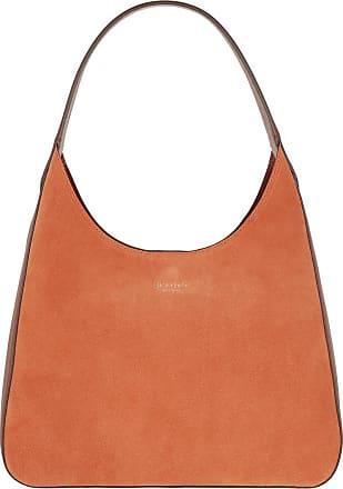 Kate Spade New York Rita Suede Medium Hobo Bag Amber Hobo Bag orange
