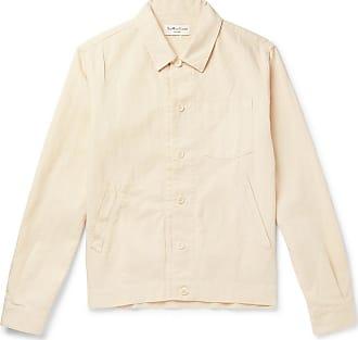 Ymc You Must Create Linen And Cotton-blend Canvas Shirt Jacket - Ecru
