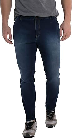 Eventual Calça Jeans Eventual Skinny Azul 40