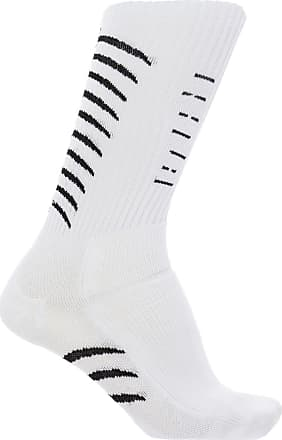 Unravel Embroidered Socks Mens White