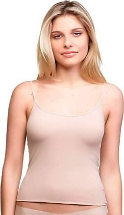 Trifil Camiseta Regata Feminina De Microfibra Sem Costura Trifil Ref. C04151