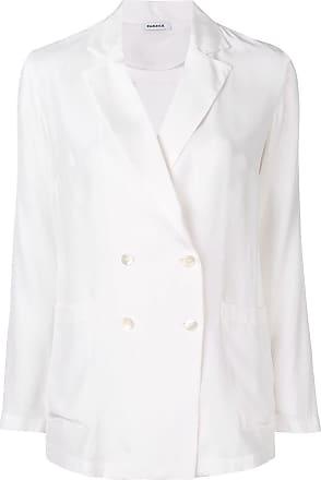 P.A.R.O.S.H. double buttoned blazer - White