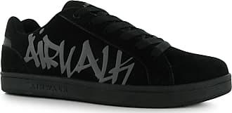 7031b00fba Airwalk Neptune Skate Shoes Mens Black Casual Trainers Sneakers (UK12)  (EU46)