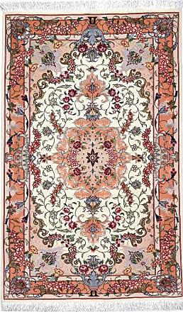 Nain Trading 120x76 Tappeto Persiano Tabriz 50Raj Grigio Scuro/Rosa (Annodato a mano, Persia/Iran, Lana / Seta)