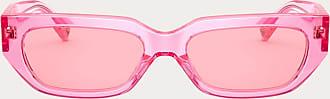 Valentino Valentino Occhiali Occhiale Da Sole Squadrato In Acetato Vlogo Donna Rosa Acetato 100% OneSize
