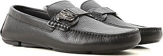 Versace Loafers for Men On Sale, Black, Leather, 2017, 10.25 11.5 8 9