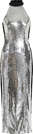 Galvan Chrome Panel sequinned dress