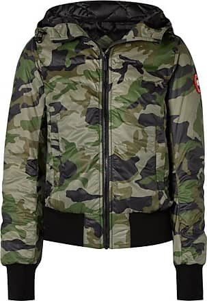 41439a4fda4f3 Canada Goose Dore Camouflage-print Hooded Shell Down Jacket - Army green