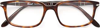 Persol Óculos com armação quadrada tartaruga - Marrom