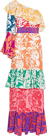 Borgo De Nor Vestido de seda floral - Estampado