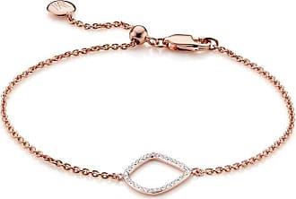 Monica Vinader Riva Diamond Kite Chain bracelet - GOLD