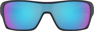 Ray-Ban Mens 0OO9307 Sunglasses, Black (Matte Translucent Blue), 40.0