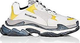 Balenciaga Mens Triple S Sneakers - White Size 13 M