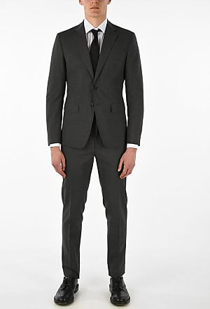 Dsquared2 Virgin Wool Blend Side Vents Suit 2-button MANCHESTER Suit Größe 48