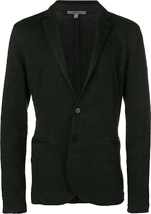 John Varvatos textured blazer jacket - Black