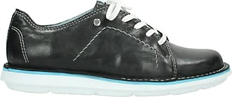 Wolky Comfort Lace up shoes Coal - 30070 black summer leather - 40