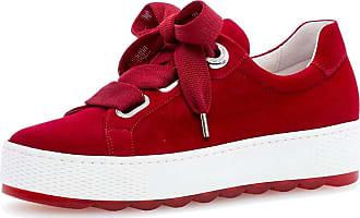 Gabor 26.535 Women,Skate Shoes,Sports Shoe,Low-Top,Lacer,Low Shoe,Platform Sole,Rubin,37.5 EU / 4.5 UK