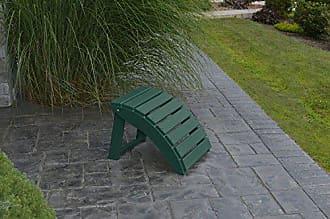 A & L Furniture A & L Furniture Poly Folding Ottoman, Turf Green