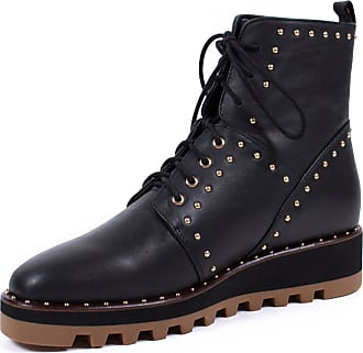 Liu Jo Women Leather Black Boots 4.5 UK