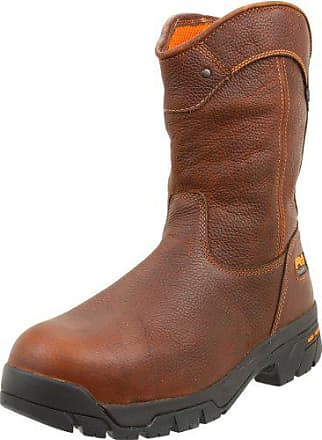 Timberland PRO Mens Helix Wellington Waterproof ST Work Boot,Brown/Brown,13 W US