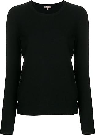 N.Peal cashmere round neck jumper - Black