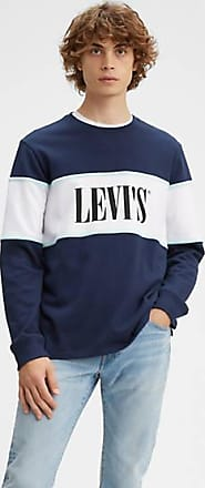 Levi's Border Colourblock CrewNeck Multicolore / Blues/ Cle