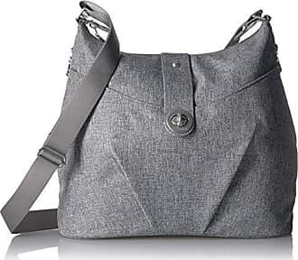 Baggallini womens Helsinki Bagg, Light Grey,One Size