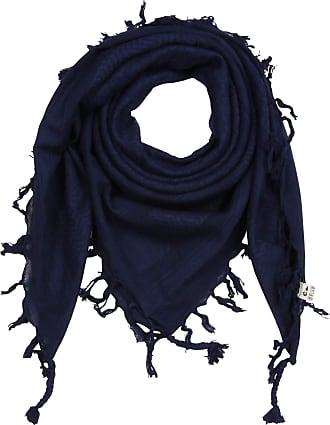 Freak Scene Kufiya - blue-navy - blue-navy - 40x40 inch - Shemagh - Arafat scarf Palestinian PLO Pali-scarf - 100% cotton