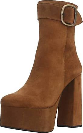 Yellow Womens Boots, Farbe Brown, Marke, Modell 92268 marrón (Cuero)