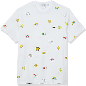 Men's White Lacoste T-Shirts: 174 Items in Stock | Stylight