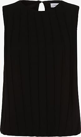 Calvin Klein Damen Blusentop schwarz