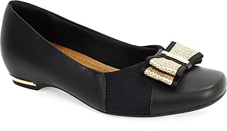 Usaflex Sapato Feminino Slim Laço Usaflex Preto 36