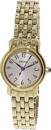 Seiko Womens SXGP64 Gold Stainless-Steel Japanese Quartz Dress Watch