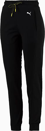 Puma Chase Knitted Womens Sweatpants, Cotton Black, size X Large, Clothing