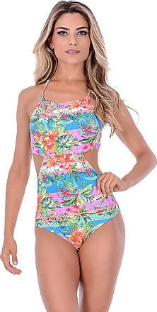 Summer Soul Maiô Engana Mamãe Flora Colors Summer Soul (GG)