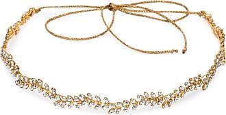 Jennifer Behr Headband Vine dourada com aplicação de cristal - Dourado