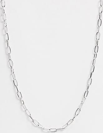 Icon Brand Catenina argento con maglie ovali