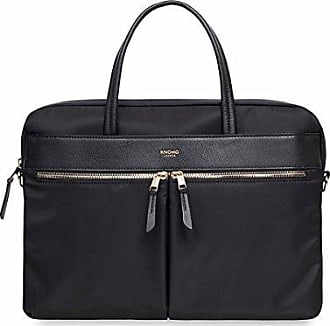 Knomo Luggage Womens Hanover Briefcase, Black, One Size