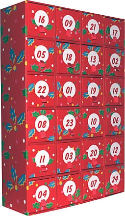 Happy Socks Mens and Ladies Christmas Advent Calendar Pack of 24 Assorted 4-7