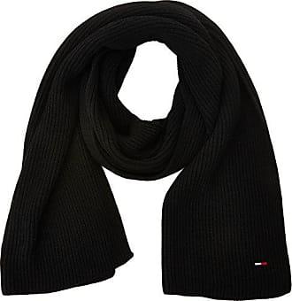 Tommy Hilfiger Basic Knit Denim Scarf, Echarpe Femme, Noir (Black), Unique f67c474f280