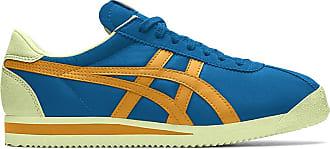 Onitsuka Tiger Unisex-Adult Tiger Corsair Shoes, 4.5 UK, Azul Blue/Citrus