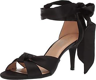 Aerosoles Womens Market Sandal, Black Satin, 6.5 M US