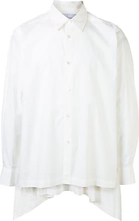 Fumito Ganryu Camiseta com pregas posteriores - Branco