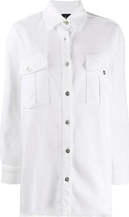 3x1 Lisa denim shirt - White