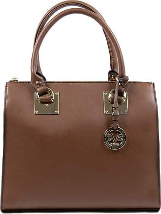 Versace 19.69 Womens Tote Handbag Brown