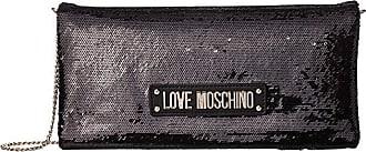 Love Moschino Sequin Evening Bag (Black) Shoulder Handbags