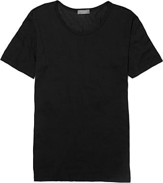 Zimmerli Royal Classic Crew-neck Cotton T-shirt - Black